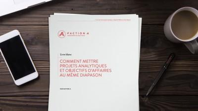 Livre Blanc - Comment mettre projets analytiques et objectifs d'affaires au meme diapason
