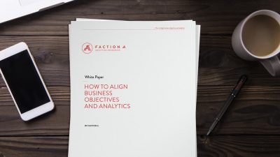 White paper - How to align business objectives and analyitics