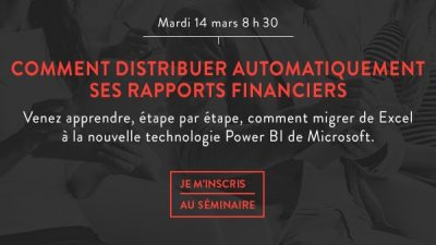 Comment distribuer automatiquement ses rapport financier - Faction A
